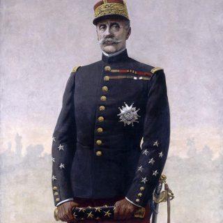 Portrait du maréchal Foch par Louis-Charles Bombled 1920 - Paris - Musée de l'Armée